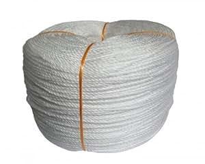 Nylon Seil 3mm x 600m weiß