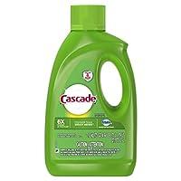 Cascade Gel Dishwasher Detergent Fresh Scent 75 Oz