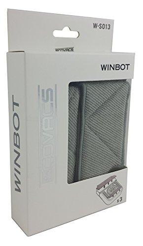 Microfasertücher für Ecovacs Winbot Fensterputzsroboter W710 und W730 3er Set