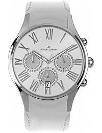 Jacques Lemans La Passion Damen-Armbanduhr Capri Chronograph Leder 1-1606J