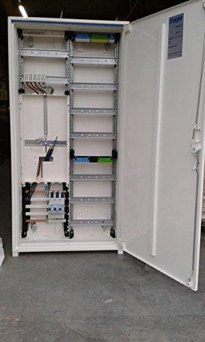 TM: Hager Zählerschrank 1 Zähler 1100mm (Tab 2015) / ZB322P17K + 1 Hager SLS 35A, für das Einfamilienhaus Komplettschrank