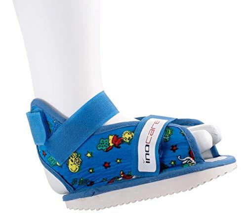 inocare 582-5-123 - Zapatos infantiles universales (talla XS), color rojo