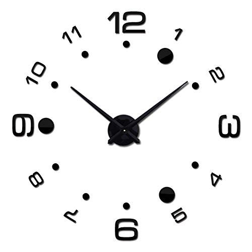 Da.Wa 1X 3D DIY Reloj Negro 80cm-125cm
