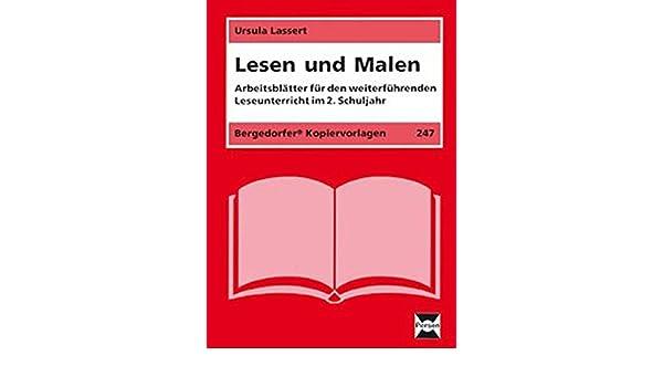Lesen und Malen: Arbeitsblätter für den weiterführenden Unterricht ...