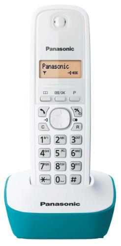 Panasonic KX-TG1611FRC Téléphone solo sans fil DECT sans répondeur Bleu