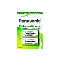 Panasonic Baterías recargables P14P / 2BC3000-2 CX 3000 mAh