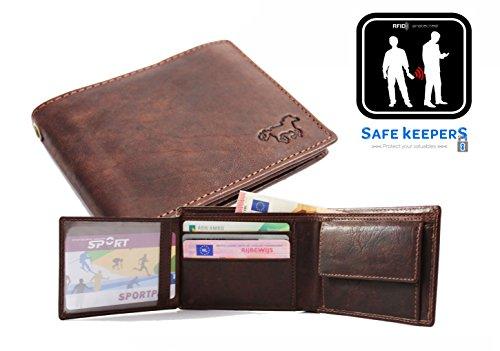 Safekeepers, Borsa a tracolla donna Marrone Cognac / L. Braun Marrone