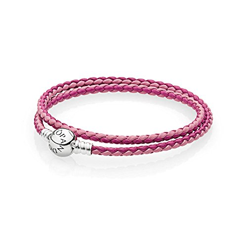 Pandora bracciali di corda donna argento - 590747cpmx-d3