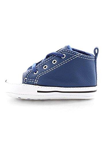CONVERSE first star leather INFANT SCARPE SPORTIVE Blu