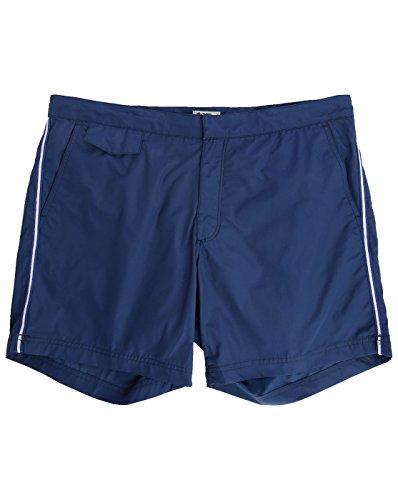 hartford-badeshorts-herren-marineblaue-badehose-side-stripes-fur-herren-l