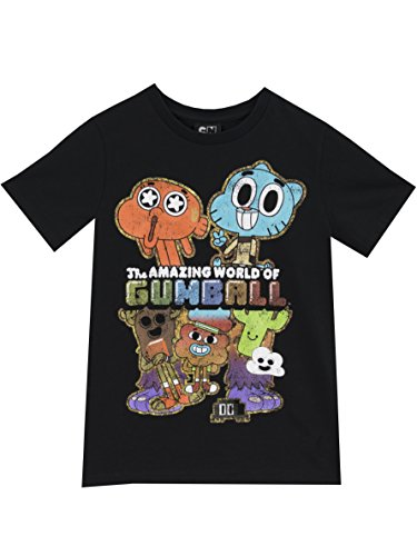 the-amazing-world-of-gumball-t-shirt-garcon-le-monde-incroyable-de-gumball-9-a-10-ans