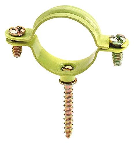 Index ABGM012 Jaune-avec collier gasmica Tirefond 12 (Sachet de 100 Vous)