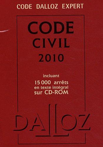 Code civil 2010 (1Cédérom)