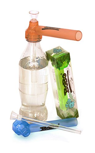 BoBo - Die immer dabei Bong / Wasserpfeife - Immer & Überall - Super Praktisch - Sauber - Extrem Robust