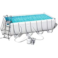 Piscina Desmontable Tubular Bestway Power Steel 488x244x122 cm