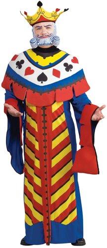 Playing Card Kostüm Für Erwachsene - Rubie´s Costume Co Spielkarte King