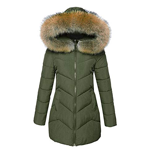 Quaan Frau Outwear, Winter Warm Faux Pelz Mantel -