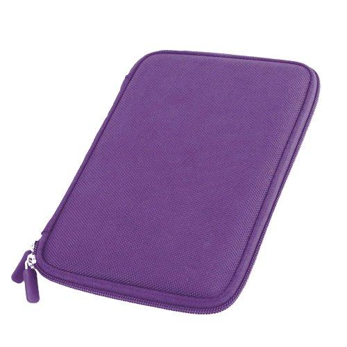 Violettes Hartschalen-Etui für WEXLER.BOOK T7004 / T7206 7 Zoll E-Book-Reader Wexler Ebook Reader