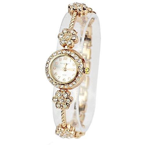 minetom-regalo-delle-donne-orologio-da-polso-wrist-watch-moda-daisies-fiore-in-oro-rosa-bracciale