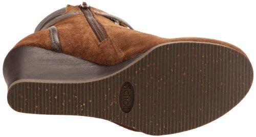 Scholl Lidean, Boots femme Marron/marron foncé