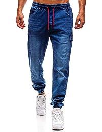 Amazon.it  Tuta Jeans - Uomo  Abbigliamento 45f5cc7bf32