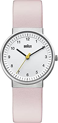 Braun BN0031SLBGL - Reloj de cuarzo para mujer, con correa de cuero