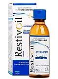 RestivOil Complex Antiforfora Olio-Shampoo per Cute Sensibile e per Capelli Secchi, senza Agenti Schiumogeni e Aggressivi, 250 ml