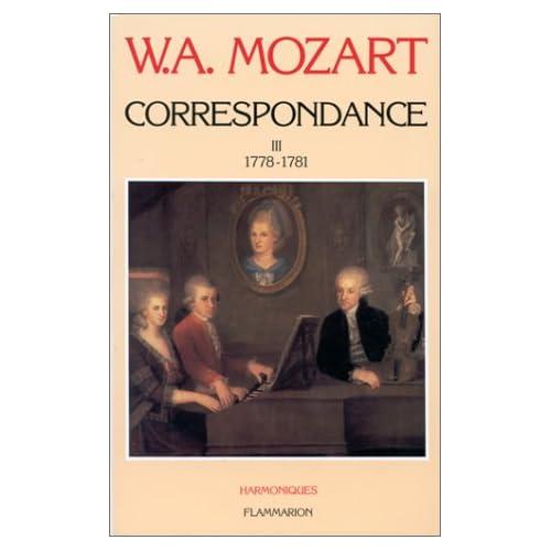 Correspondance, tome III : 1778-1781