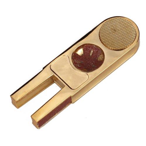 Alloy U Shape Pool Cue Tip Stick Scuffer/Tapper/Burnisher Gold
