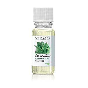 Oriflame Pure Nature Organic Tea Tree and Rosemary Purifying Oil, 10ml