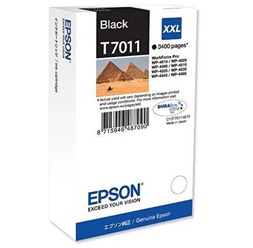 Epson T701140 Workforce PRO WP 4015/4025/4545 Inkjet/getto d'inchiostro Cartuccia originale