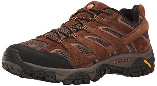 Merrell Herren Moab 2 Vent Trekking und Wanderhalbschuhe, Braun (Earth), 44.5 EU - Fab Füße