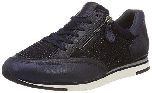 Gabor Shoes Damen Casual Derbys, Blau (Ocean/Darkbl./Pazi), 38 EU