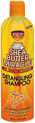 African Pride Shea Butter Miracle Detangling Shampoo 360 ml by AFRICAN PRIDE from African Pride