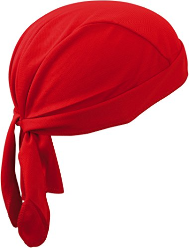 Functional Bandana Hat/Myrtle Beach (MB 6530) Red -