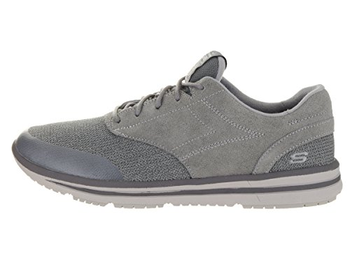 Skechers Mens Relaxed Fit Doren Westin Sneaker charcoal/gray