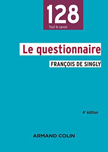 Le questionnaire - 4e éd.