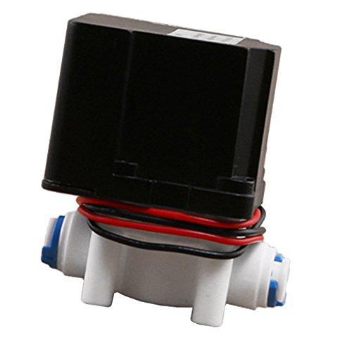 Preisvergleich Produktbild Sharplace 24V Automatische Druckspüler Spülventil Magnetventilschalter für 1 / 4 '' RO-Membran automatisch abgeschaltet nach 18 Sekunden
