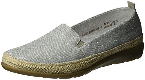 Remonte Damen D1911 Slipper Silber (silber/grey/91)