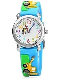 Arroyo Sports Gift 3D Cute Cartoon Digital Silicon Wristwatches Time Teacher Gift For Little Girls Boys Kids Children... - B07GDF1K58