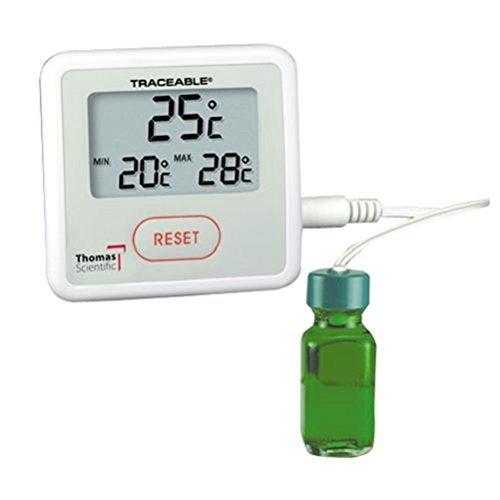 Thomas rückverfolgbarem Sentry Thermometer, mit Flasche Sonde, -58 to 158 degree F,, 1 -