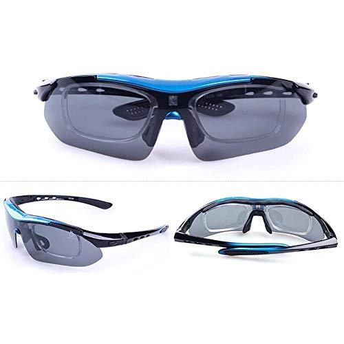 Ludage Gute sportbrillen Outdoor Herren Sport Brille Fahrer polarisierenden Sonnenbrillen kugelsichere Sonnenbrille Reiten eingestellt Werden.