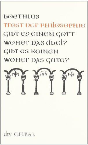 Buchseite und Rezensionen zu 'Trost der Philosophie (Kleine Bibliothek der Weltweisheit)' von Boethius