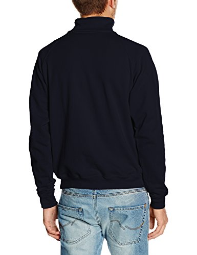 Fruit of the Loom Herren Sweatshirt Blau