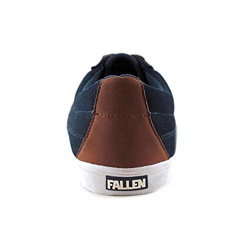 Fallen, Scarpe da Skateboard uomo Marrone marrone Blu (midnight blue/saddle brow)
