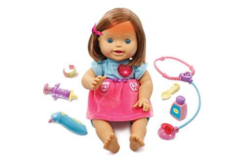 Little Love - Susi primeros cuidados, muñeca interactiva (Vtech 3480-179522)