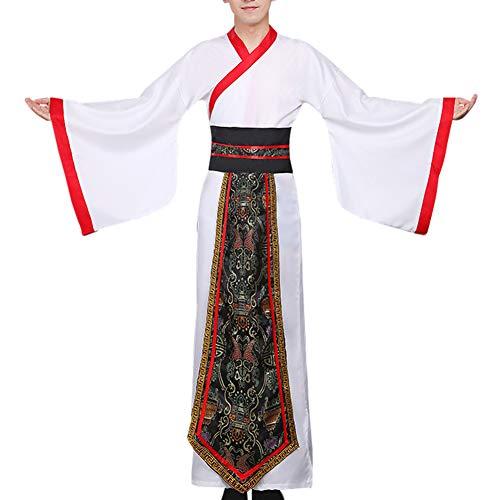 Daytwork Herren Cosplay Kostüm Hanfu - Kleidung Chinese Traditional Uralt Lange Minister Tang Anzüge Performance - Herr China National Kostüm