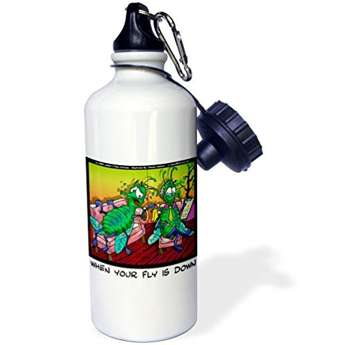 statuear-your-fly-is-down-aluminum-20-ounce-600ml-sports-water-bottle-gift