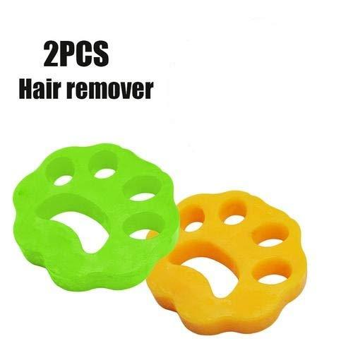 2 PCS Haustier Haarentferner Für Wäsche Pet Hair Catcher, Reinigung Ball Tierhaarentferner für Waschmaschine für Hundehaar, Katzenfell und alle Haustiere