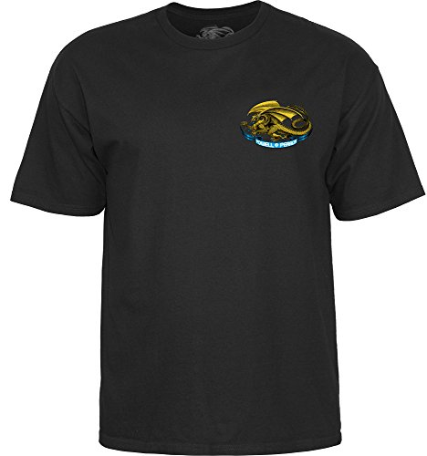 powell-peralta Oval Dragon schwarz Large T-Shirt